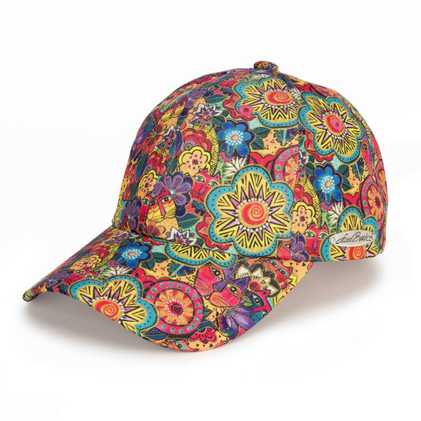 Laurel Burch - Garden Flower Ball Cap