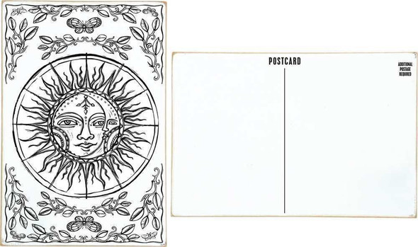 Wooden Postcard - Creation