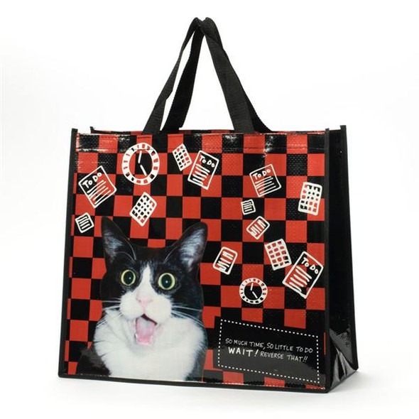 So Much Time Cat Tote 4037278