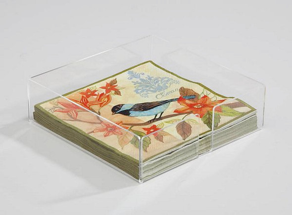 Lucite Luncheon Napkin Holder - 3NHP003