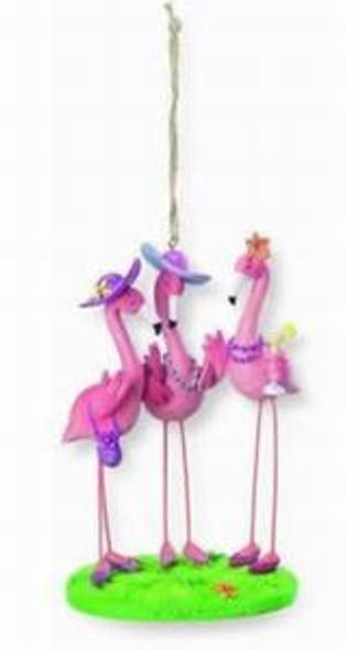 Pink Flamingo Ladies Ornament  - 862-41
