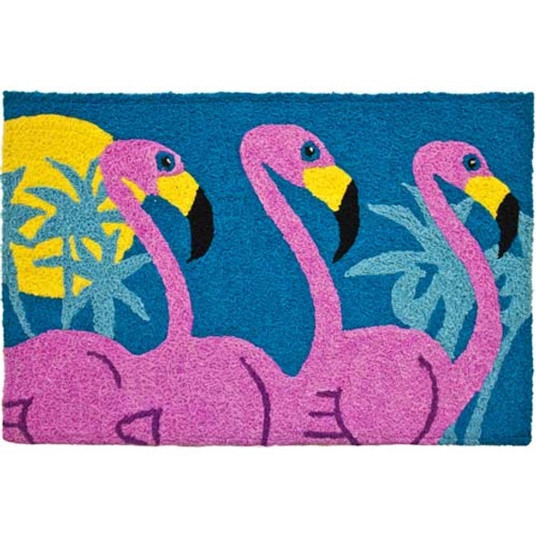 Flamingo Friends - Floor Rug - JB-AVH008