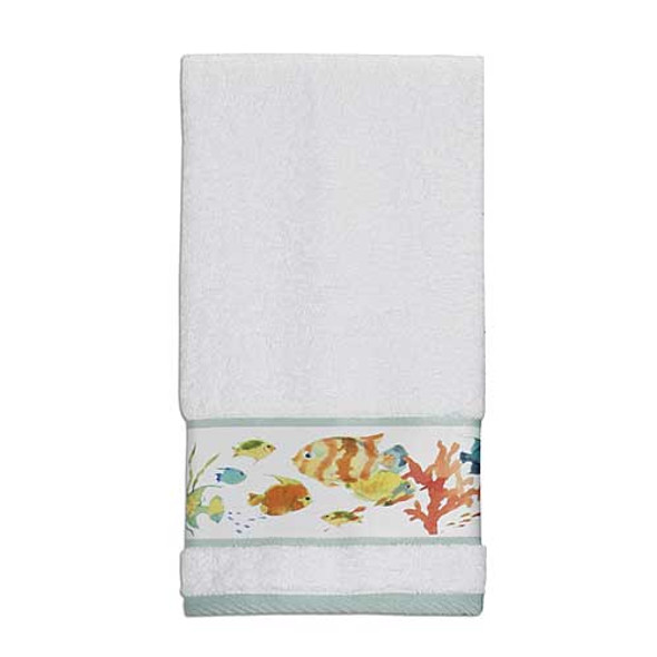 Rainbow Fish 100% Cotton Hand Towel TP1073HMULT