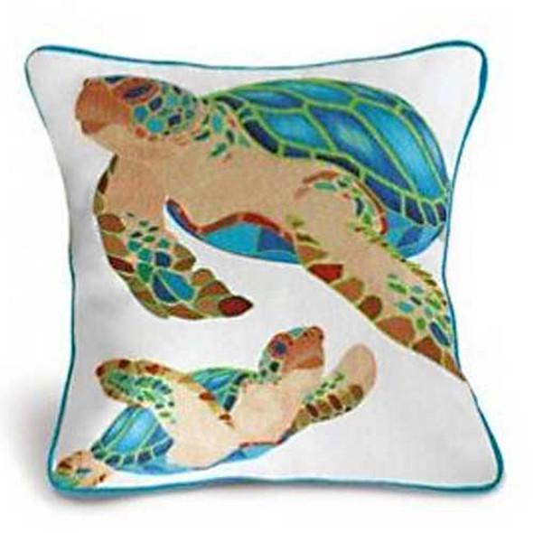Cotton Twill Honu Keepsake Pillow 94034001