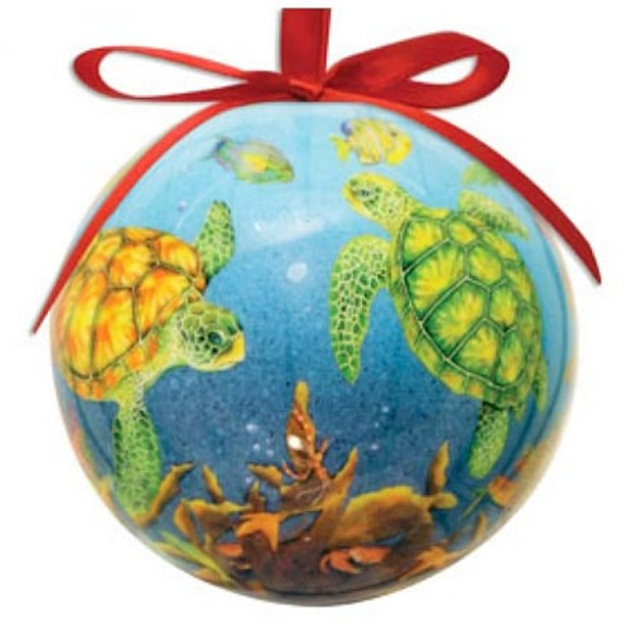 Ornament Ball Sea Turtle 857-14