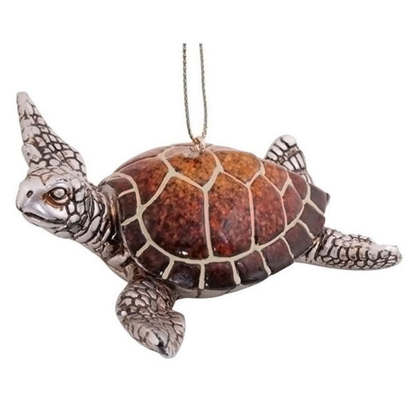 Sea Turtle Christmas Ornament - 880-04