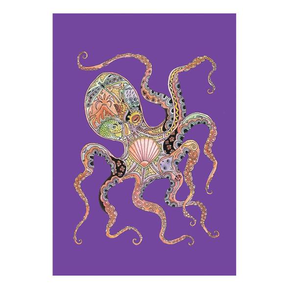 Octopus Art Garden Flag - 119613