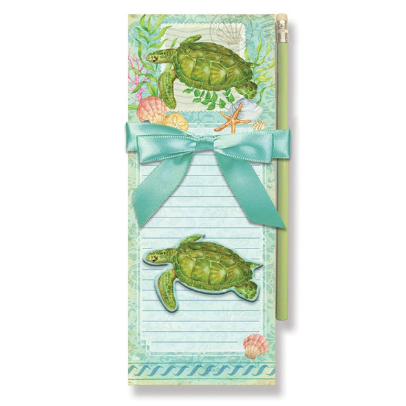 Sea Turtle Magnetic List Pads with Magnet Set - 91-406