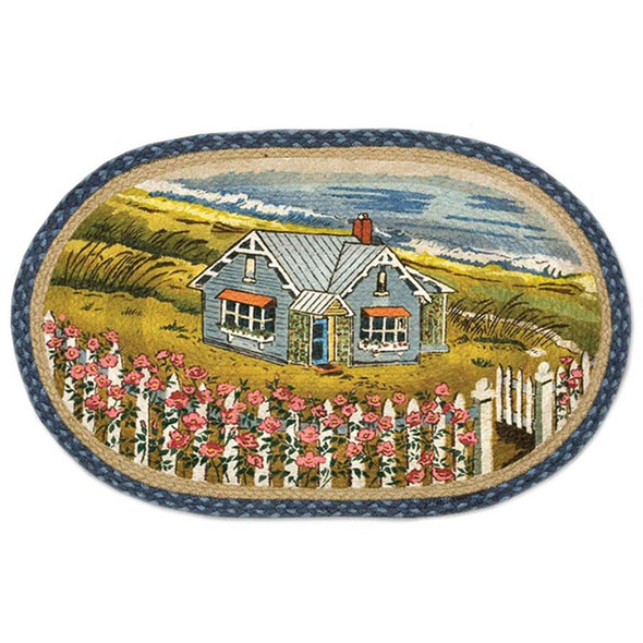 "Beach House 1016 Licensed Print Rug 20""x30"" by Earth Rugs 1016"