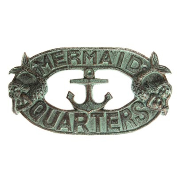 MERMAID QUARTERS PLAQUE