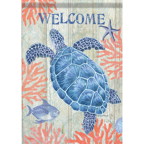 "Sea Turtles Garden Flag - 12.5"" x 18"" - 46931"