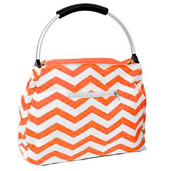 Orange Chevron Beach Tote - 60337D