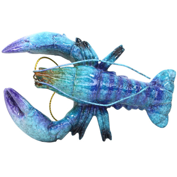 Blue Lobster Ornament X-381B