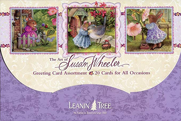 The Art of Susan Wheeler - Cute Greeted Card Assortment by Leanin' Tree