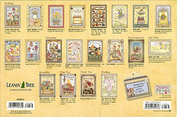 Debbie Mumm Country Greeting Card Assortment by Leanin' Tree