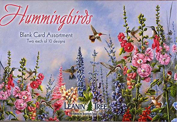 Hummingbirds - Blank Card Assortment by Leanin' Tree (AST90633)