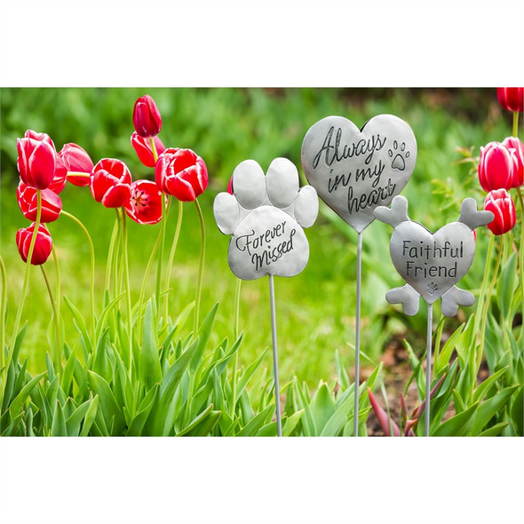 Always in my Heart - Pet Memorial - Garden Stake - 47M1591A