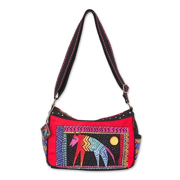 Laurel Burch Celestial Dog 11x7 E/W Crossbody Tote – LB7041
