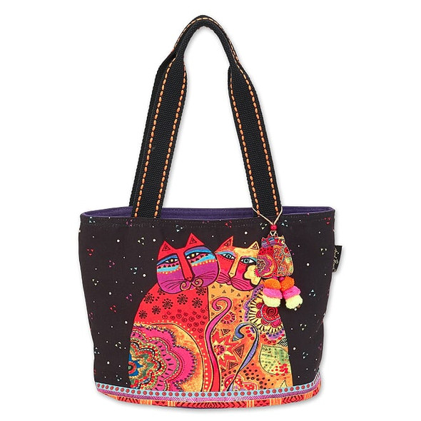 Laurel Burch Festive Felines 14x9 Medium Tote – LB7091