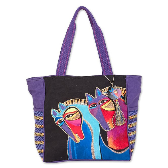 Laurel Burch Peruvian Mares 20x13 Shoulder Tote – LB8020