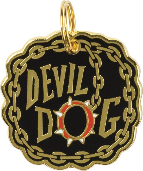 Dog Collar Charm - Devil Dog - 100340