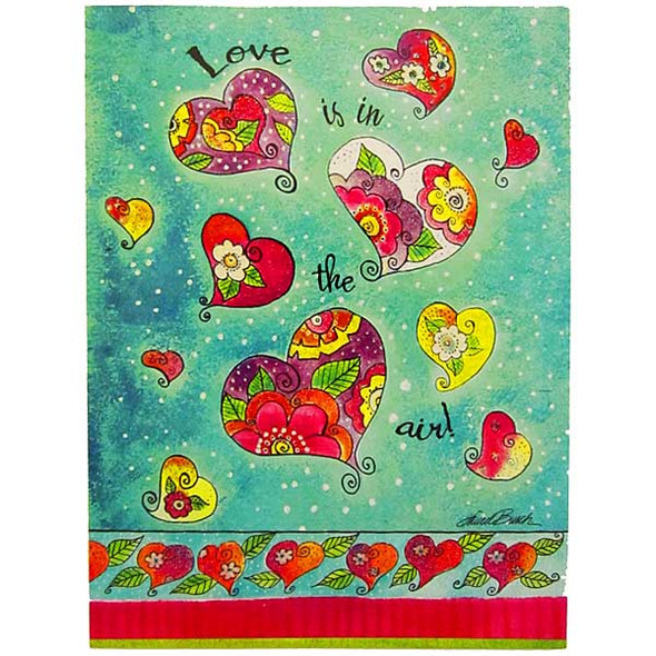 Laurel Burch Happy Anniversary Card AVG10875