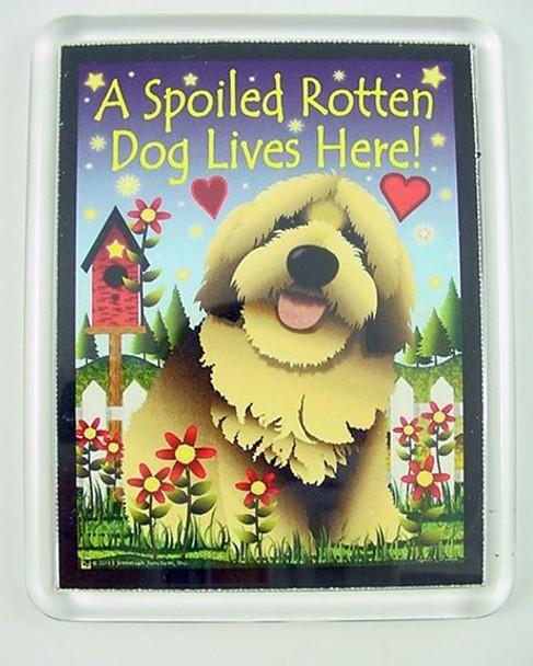 """Dog Magnet """"Spoiled Rotten Dog"""" - JP097"""