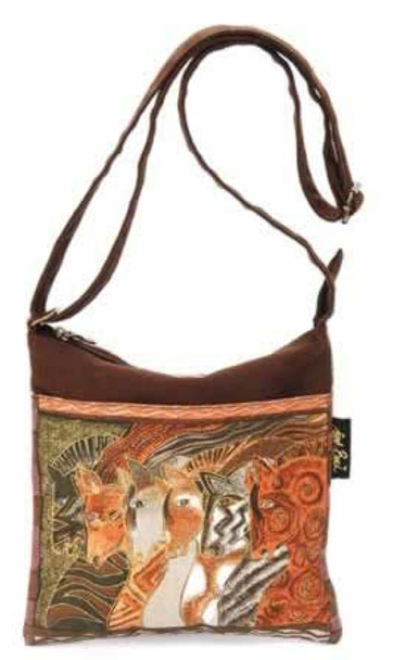 Laurel Burch Moroccan Mares Crossbody  Bag - LB2015