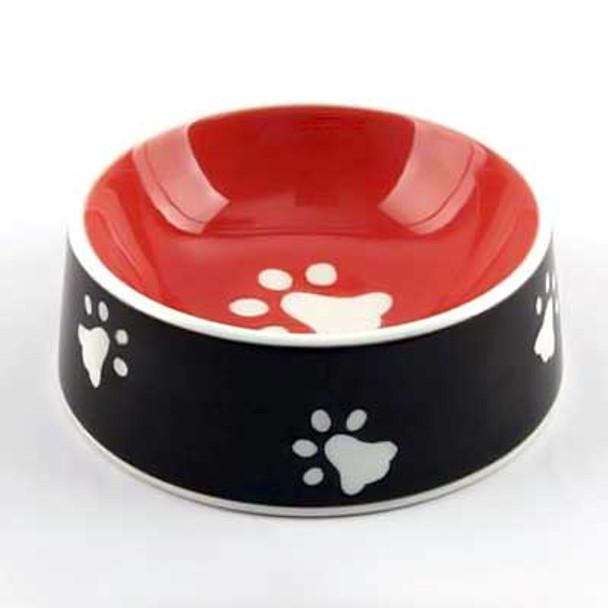 Ceramic Dog Paws Bowl 11623