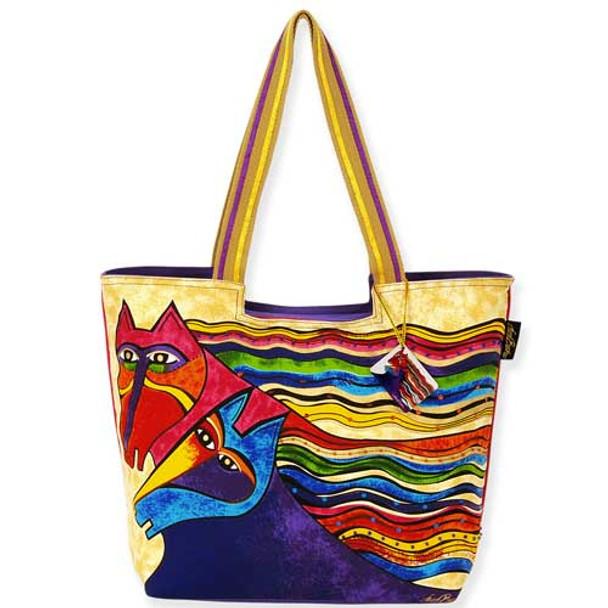 Laurel Burch Wind Spirit Scoop Tote Bag LB5281