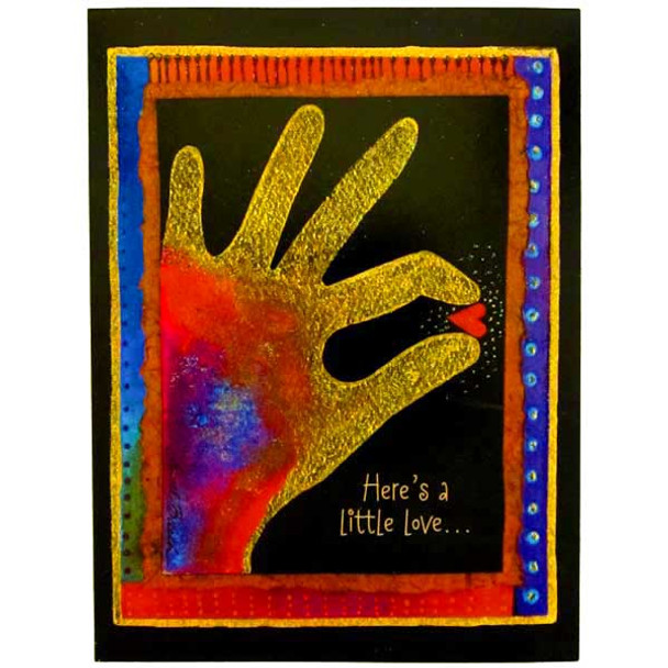 Laurel Burch Little Love Card LTG10874