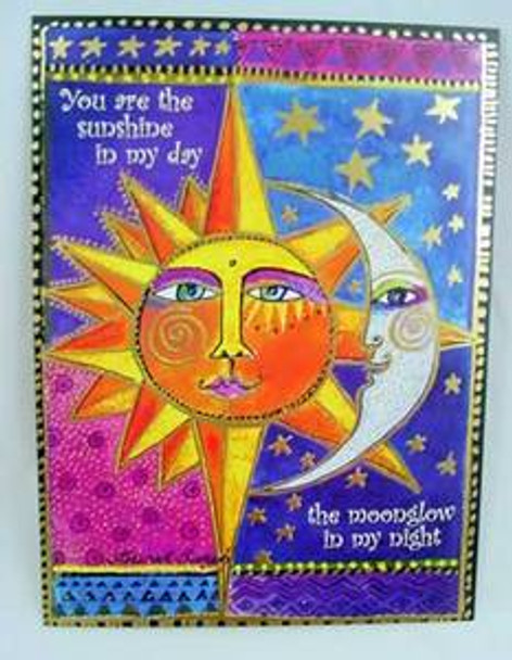 "Laurel Burch Card Love - ""Sister Sun Brother Moon"" - LVG44849"