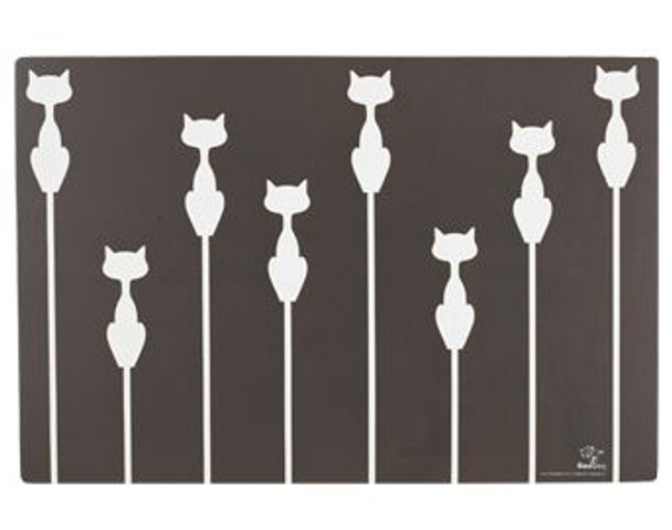 Shadow Cat Pet Placemat - M1251