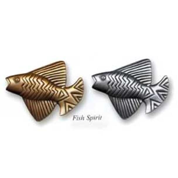 """Laurel Burch PIN """"Fish Spirit"""" Cast Metal Pin PN103 (PN103)"""