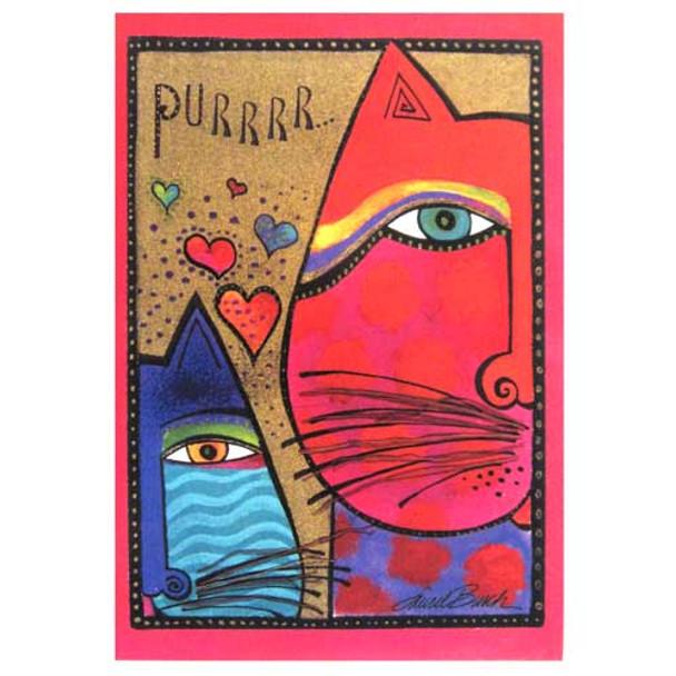 Laurel Burch Valentines Day Card VDT29418