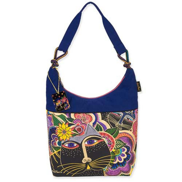 Laurel Burch Carlotta's Cats Scoop Tote