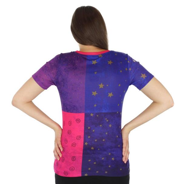 Laurel Burch Tee Shirt Sun & Moon LBT039