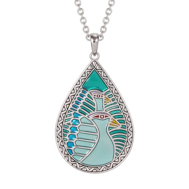 Dove Tears Laurel Burch Necklace Turquoise 5003