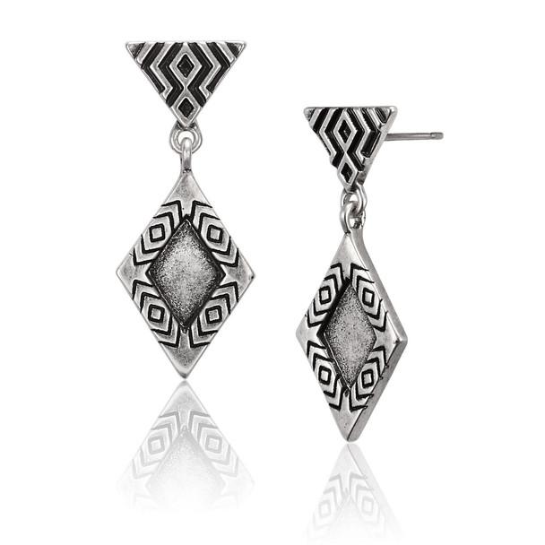 Tribal Rain Laurel Burch Earrings 6081