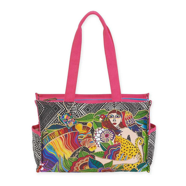 Laurel Burch Earth Song Medium Tote LB5622