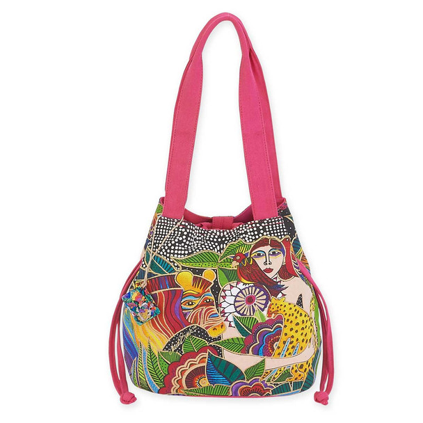 Laurel Burch Earth Song Medium Drawstring LB5623