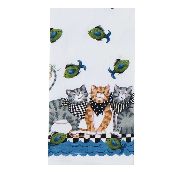 Cats Fish Market Flour Towel - R3063