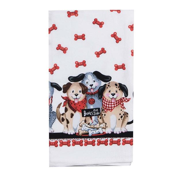Dog Meat Market Cotton Towel - R3193