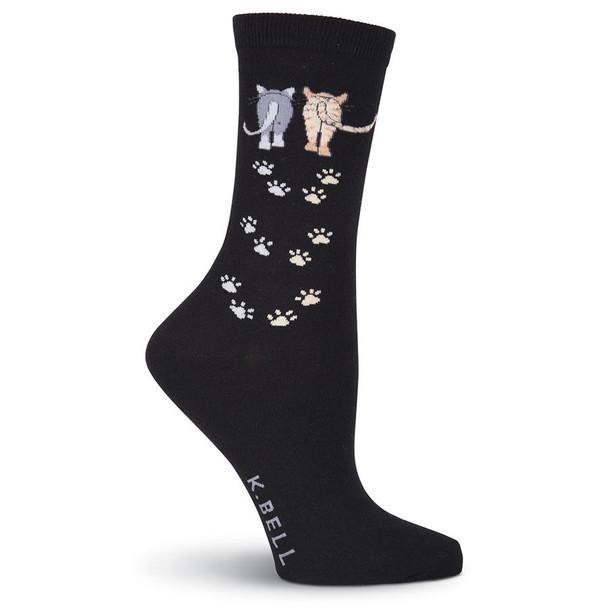 Cat Socks Catwalk - Black - F15H054-01