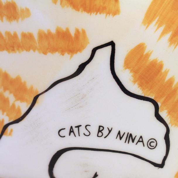 Orange Tabby Cat Cat-Shape Teapot 45421