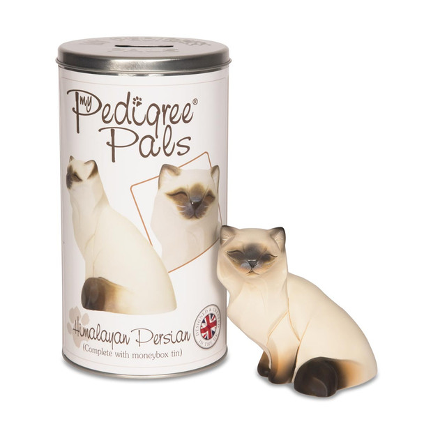 Himalayan Cat Figurine & Coin Bank 46017