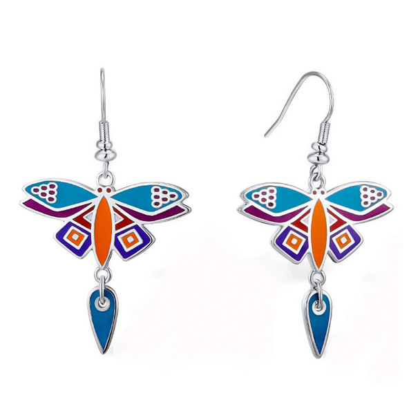 Dragonfly Laurel Burch Earrings - 5092