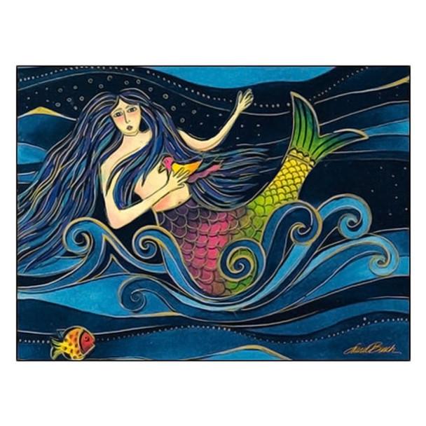 Laurel Burch Friendship Card Sending Oceans of Love FRG17051