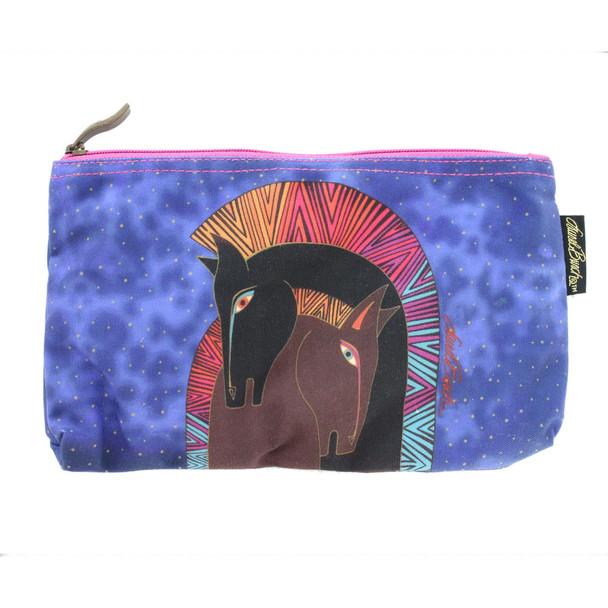Laurel Burch Embracing Horses 10x6 Cosmetic Bag LB5330C (LB5330C)