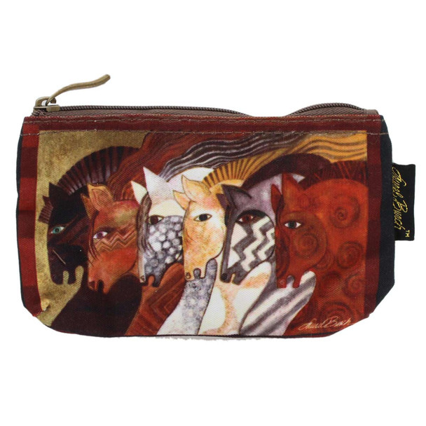 Laurel Burch Moroccan Mares 7x4 Cosmetic Bag LB5333A (LB5333A)
